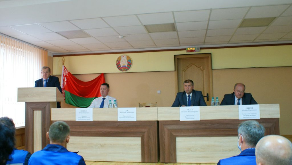 Встреча председателя Брестского облисполкома Лиса А.В. с трудовым коллективом предприятия